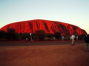 Ayers Rock:  Australia