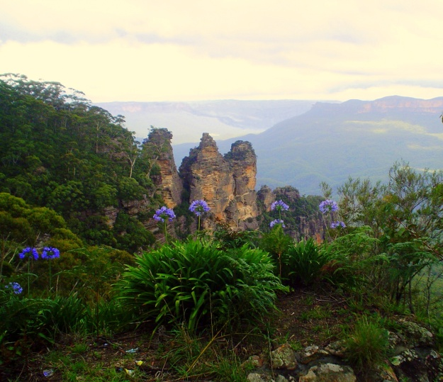The Three Sisters:  The Blue Mountains, New South Wales, Australia