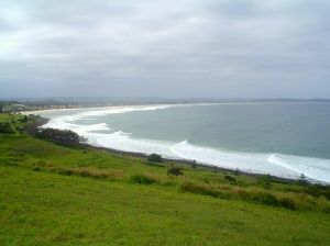 A beach along the coast of New South Wales